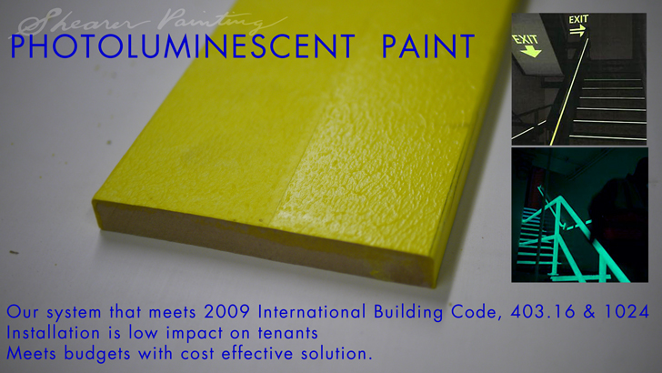 Photoluminescent paint